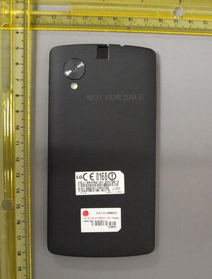 LG Nexus 5 en nuevas imágenes pasando por la FCC