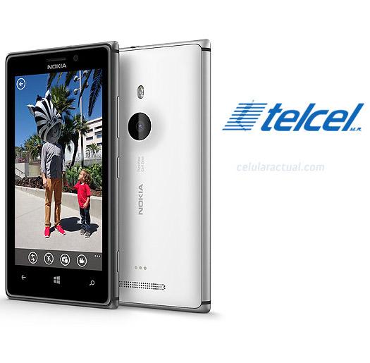 Nokia Lumia 925 en México con Telcel Logo