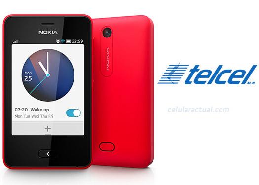 Nokia Asha 501 en México con Telcel