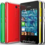 El colorido Nokia Asha 502 en imágen oficial previo a lanzamiento