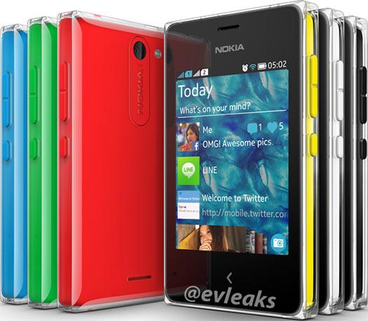 Nokia Asha 502 imagen oficial