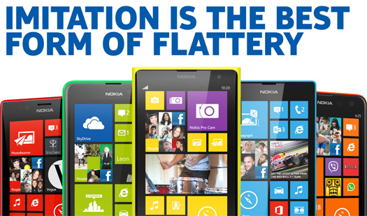 Nokia se burla iPhone 5C de Apple
