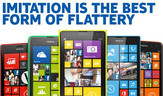 Nokia se burla iPhone 5C de Apple