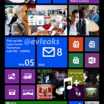 Nokia Lumia 1520 phablet en screenshot de sus Live Tiles
