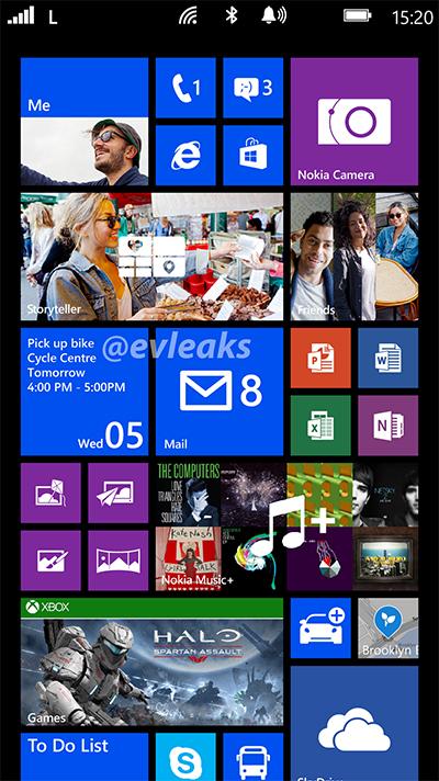 Nokia Lumia 1520 Bandit phablet Live Tiles screenshot