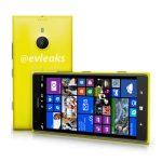Nokia Lumia 1520 phablet de 6″ en primer render oficial