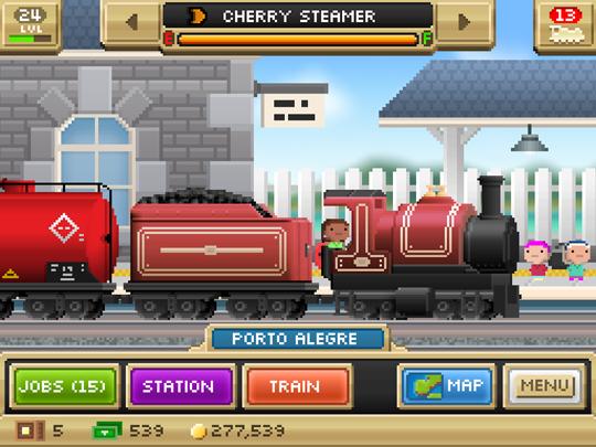 App Pocket Trains