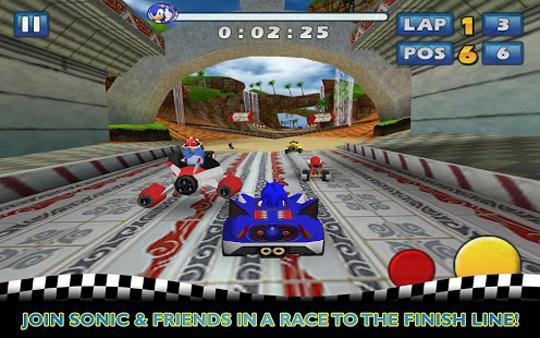 App Sonic & SEGA All-Stars Racing