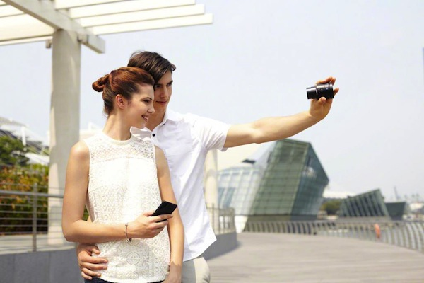 Sony Lente QX100 para iPhone y Android