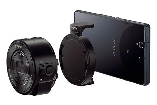 Sony Lentes módulos QX10 y QX100  para smartphones