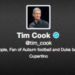 Tim Cook se une a Twitter y publica su primer tuit