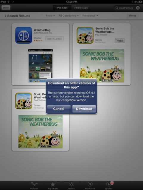 App WeatherBug