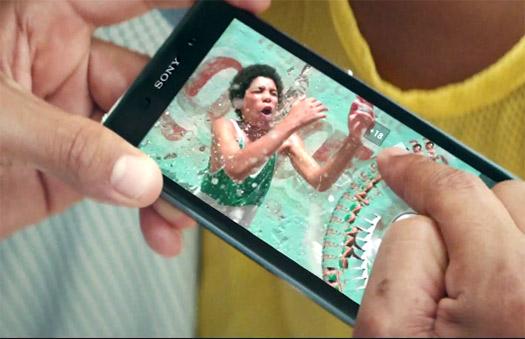 Xperia Z1 comercial de TV