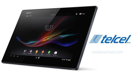 Sony Xperia Tablet Z 4G LTE en Telcel México