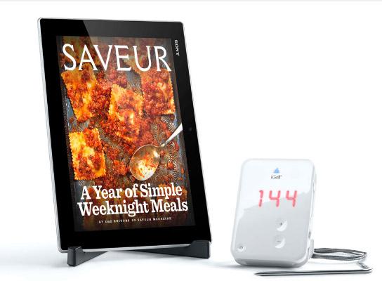 Xperia Tablet Z Kitchen Edition iGrill termómetro