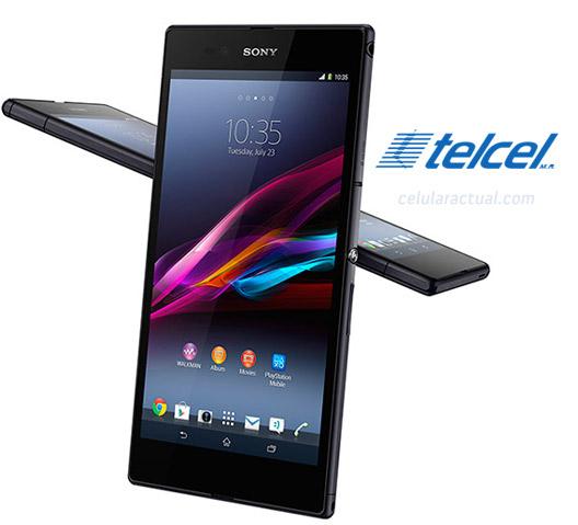Sony Xperia Z Ultra phablet en México con Telcel