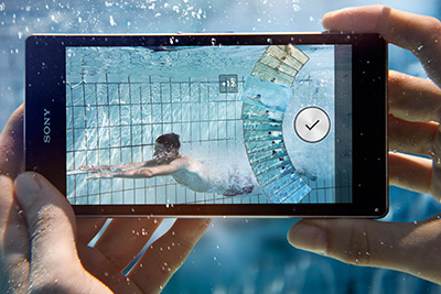 Sony Xperia Z1 official cámara bajo el agua 20.7 MP G Lens
