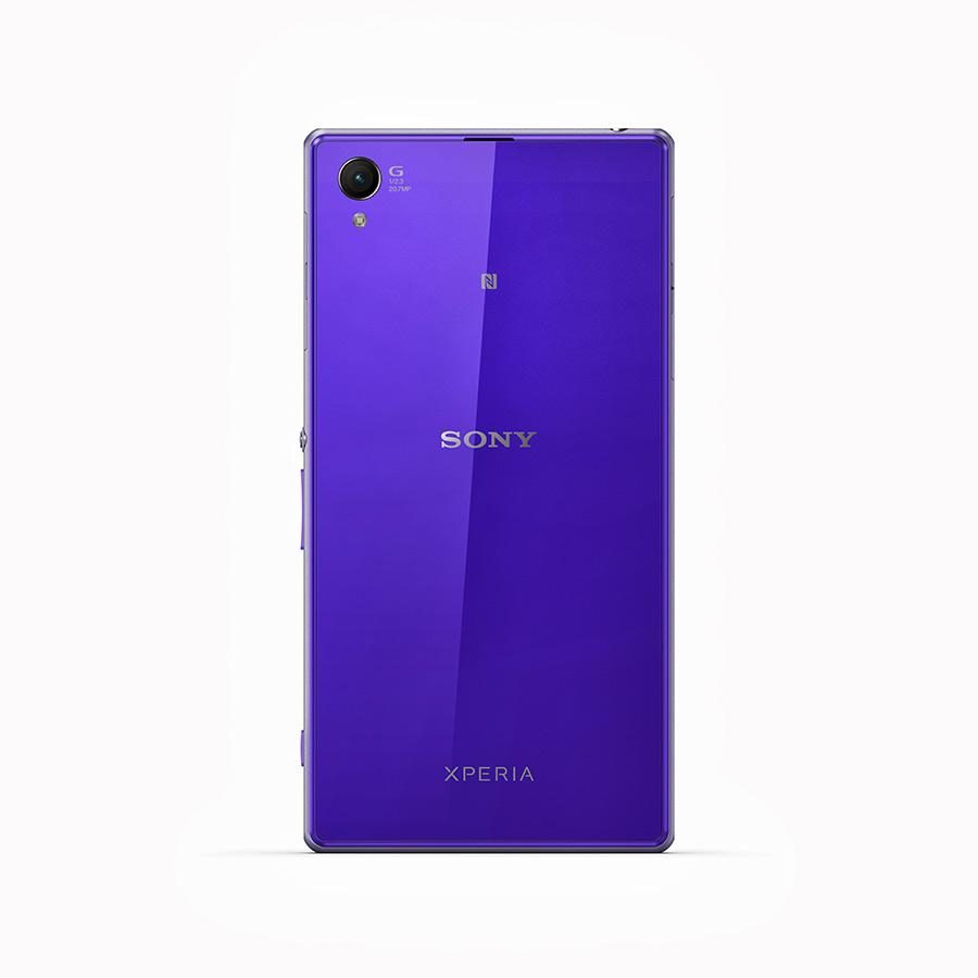 Sony Xperia Z1purple cámara parte trasera