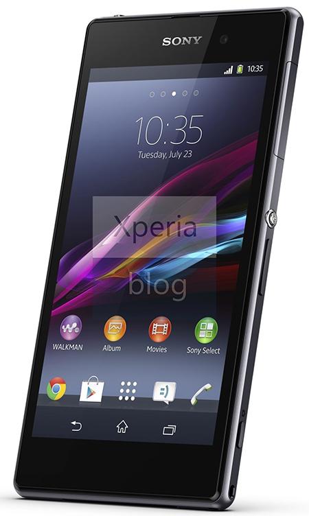 Sony Xperia Z1 render oficial