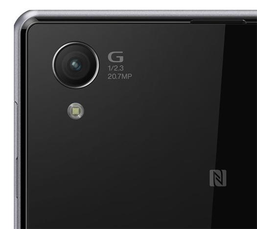 Sony Xperia Z1 renders oficiales detalle cámara logos