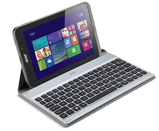 Acer Iconia W4 tablet con teclado
