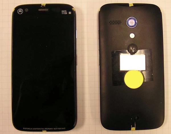 Motorola Moto DVX en FCC