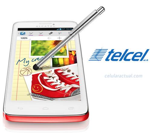 Alcatel One Touch Scribe OT-8000 en México con Telcel