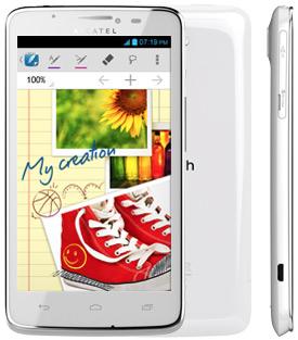 Alcatel One Touch Scribe OT-8000 color blanco