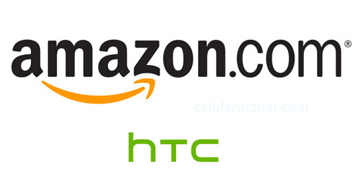 Amazon Logo y HTC Logo