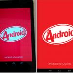 Nuevas imágenes de Android 4.4 muestran animación escondida KitKat