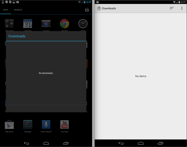 Android 4.4 Kitkat Descargas app