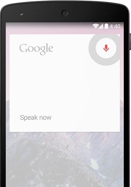 Android KitKat 4.4  OK Google Asistente