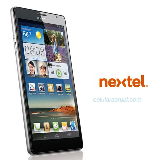 Huawei Ascend Mate en México con Nextel