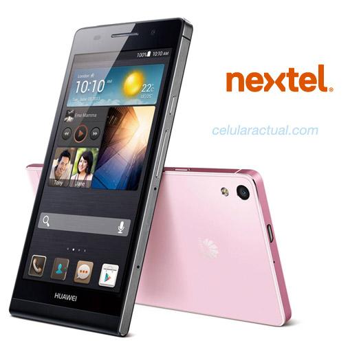 Huawei Ascend P6 en México con Nextel