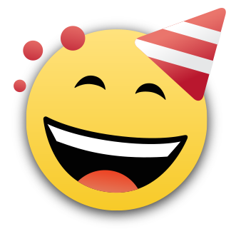 BBM smile icon 10 millones