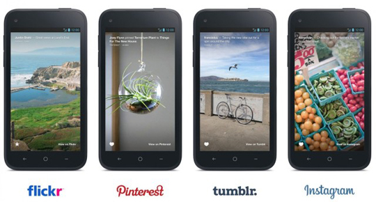 app Facebook home