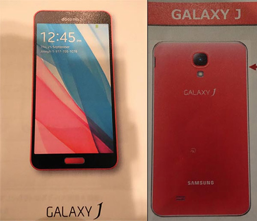 Samsung Galaxy J color Rosa, Pink