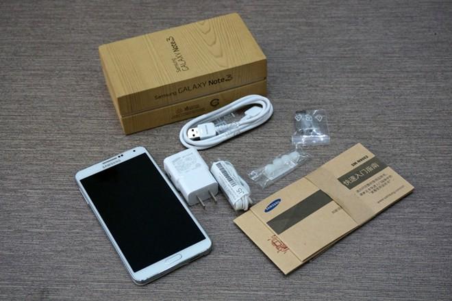 Samsung Galaxy Note 3 dual-SIM caja