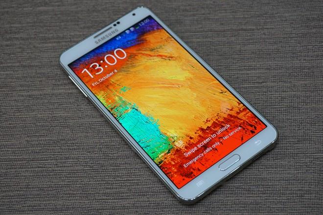 Samsung Galaxy Note 3 dual-SIM exterior