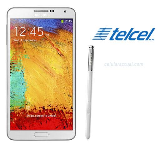 Samsung Galaxy Note 3 en México con Telcel