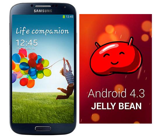 Samsung Galaxy S4 Exynos Octa con Android 4.3 Jelly Bean