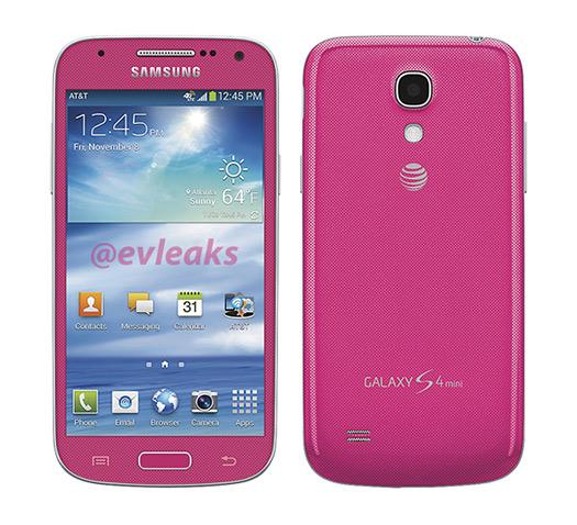 Galaxy S4 mini Rosa Pink para AT&T