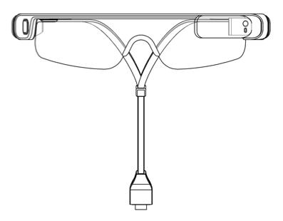 Samsung Gear Glass lentes inteligentes de frente