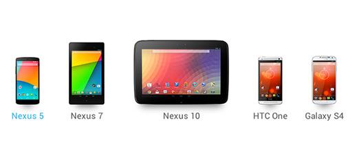 Los próximos a recibir Android 4.4 KitKat son el Nexus 4, 7 y 10