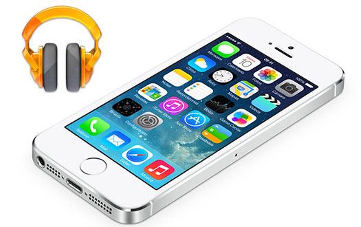 Google Play Music para iPhone iOS