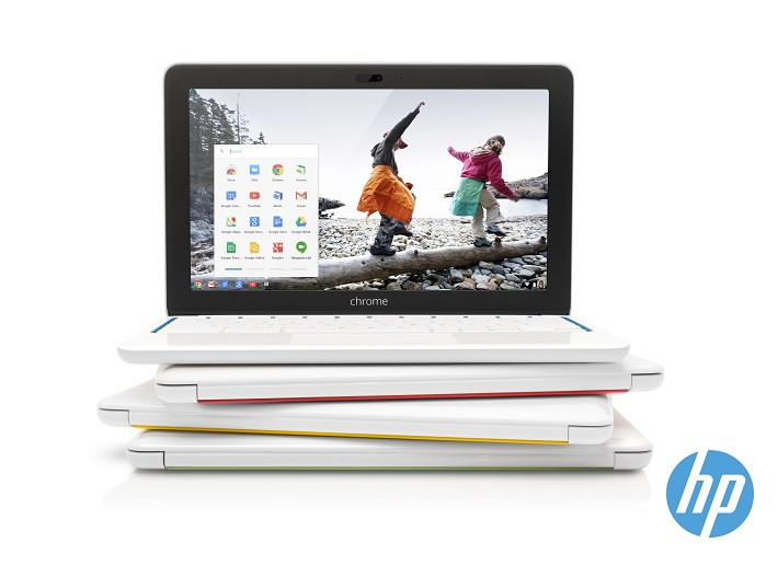 HP Chromebook 11 con Chrome OS