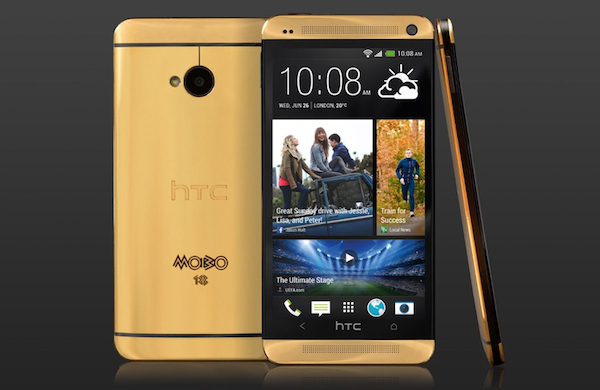 HTC One Gold edition 24 Kilates