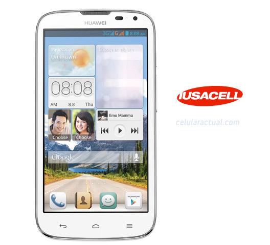 Huawei Ascend G610 en México con Iusacell