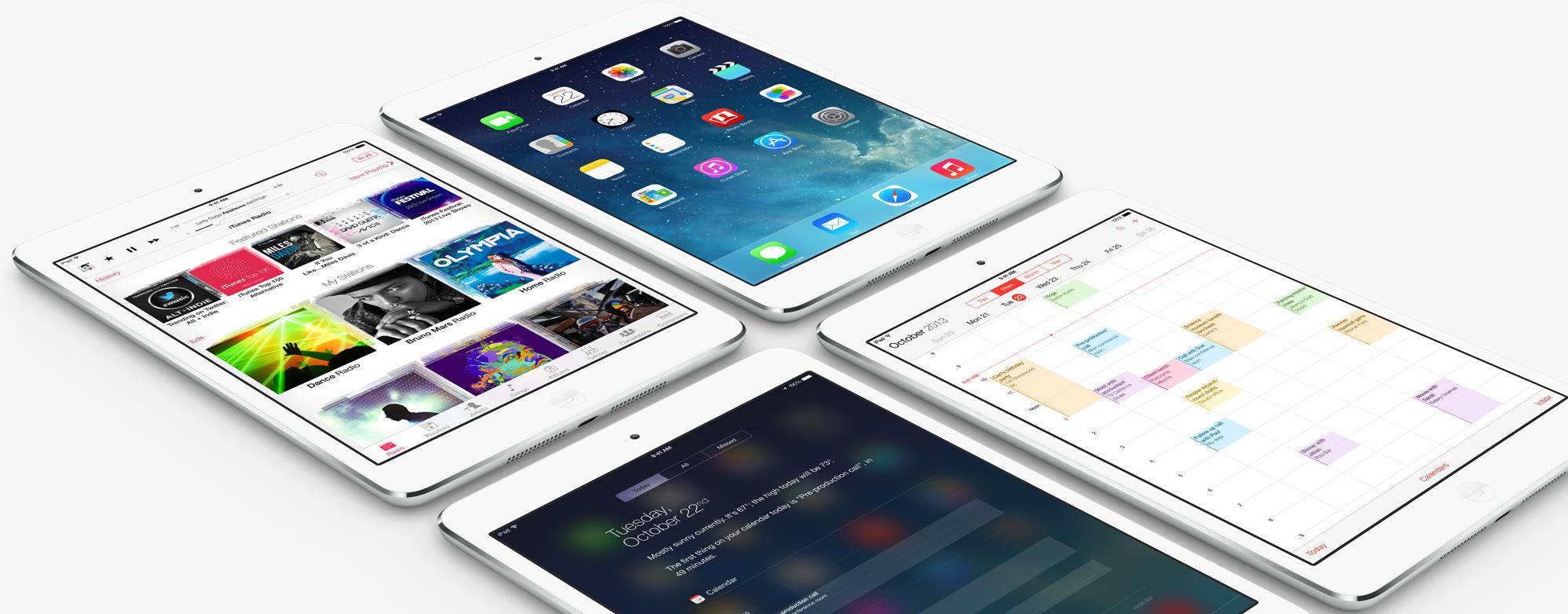 iPad mini Retina Display millones de apps 2 iOS 7