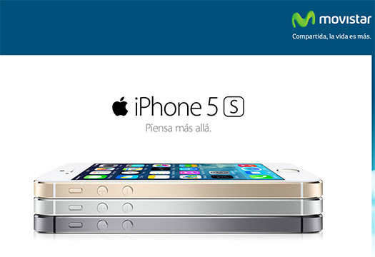 iPhone 5s en Movistar México